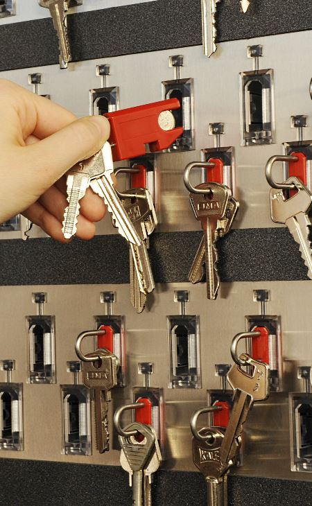 solution for key safety, key management system